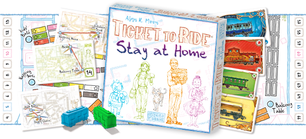 Ticket to Ride: Stay at Home
